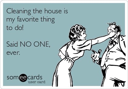 24 hilarious someecards to help you avoid spring cleaning | evans